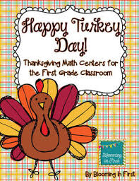 thanksgiving math centers by erica butler teachers pay teachers