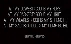 He Is My Comforter Own Your Weakness