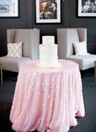 pink round table covers baby pink sequin tablecloth made to order shiny blush light