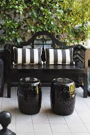 Garden Furniture Cushion Storage Bag by Best 25 White Outdoor Bench Ideas On Pinterest Outdoor Seating