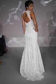 Mermaid Wedding Dresses 2011 Lace Mermaid Style Wedding Dress With Open Back From Blush By