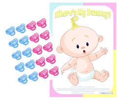 wheres my dummy baby shower game pink amazon co uk baby