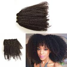 cheap clip in hair extensions 4a 4b 4c 3a 3b 3c peruvian afro curly hair afro