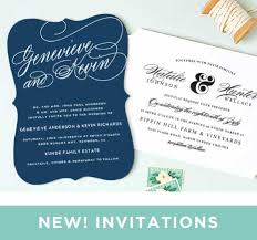 modern stack clear save the date cards