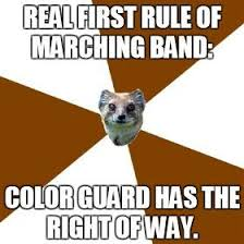Color Guard Memes - band color guard memes memes pics 2018