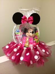 minnie mouse easter baskets minnie mouse basket with tulle the ultimate list of minnie mouse