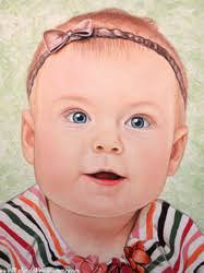 baby portraits toronto baby portraits malinda prudhomme portrait paintings