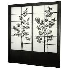 oriental furniture shoji double sided sliding door kit room