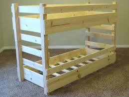 Wood Bunk Bed Plans Wood Bunk Bed Plans Hoodsie Co