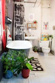 about beautiful bohemian style trends with eclectic bathroom decor