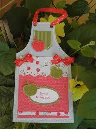 fabriquer un tablier de cuisine une carte tablier sev et scrapent