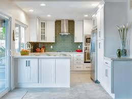 best small kitchen designs glossy concrete floor kitchen island