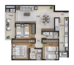 3 dormitórios 2 vagas garagem 92 m prime class residence