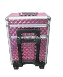 mobile professional cosmetic trolley cases nail technician