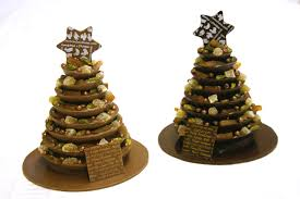 christmas chocolate rococo couture christmas tree now available in milk and