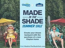clayton homes offers new homebuyers lowe u0027s gift cards for outdoor