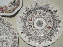 antique china pattern china patterns top antique u vintage brown china plates lot
