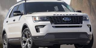 Ford Explorer Colors - ford updates looks of the 2018 explorer suv with new grille
