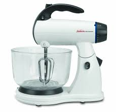 Kitchen Stand Mixer by Review Sunbeam 2371 Mixmaster Stand Mixer White Youtube