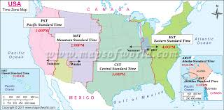 map of time zones usa and mexico us time zone map with clocks mexico and central america time zone