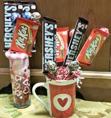 How To Make A Candy Bouquet Easy Valentine Gift Candy Bouquet Just Me Regina