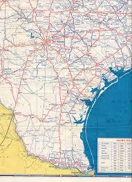 South Padre Island Map Texasfreeway U003e Statewide U003e Historic Information U003e Old Road Maps