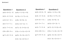 multi step equations with variables on both sides worksheets