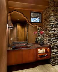 Phoenix Bathroom Vanities by Phoenix Bathroom Mirrors With Powder Room Contemporary Vessel Sink