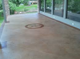 Stain Concrete Patio by Concrete Stained Salt Finished Patio With Maylay Tan Stain U0026 A