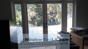 redondo beach french door window tinting with drei 35 window