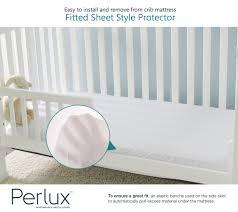 Crib Mattress Cushion Perlux Luxury Crib Mattress Protectors