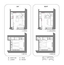 Triplex Floor Plans Gallery Of Triplex In Paris Studio Pan 21
