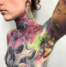 samantha tattoo on her neck samantha ford silver needles sam ford tattoos on instagram love