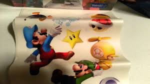super mario bros peel and stick wall decals unboxing review super mario bros peel and stick wall decals unboxing review amasf