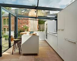quaint english cottage gets a modern kitchen addition freshome