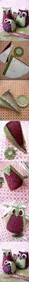 Diy Room Decor Easy Owl Pillow Sew No Sew Best 10 Fabric Owls Ideas On Pinterest Felt Owls Owl Kids And