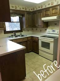 relatively quick and easy kitchen update with new paint and new