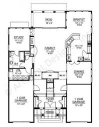 Narrow House Plans With Garage Mission Viejo Tuscan House Plans 4 Bedroom House Plans