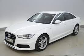 used audi a6 white for sale motors co uk