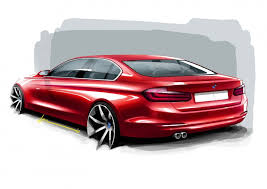 bmw 3 series design sketches car body design