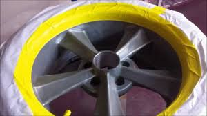 painting the rocket booster wheels ppg paint youtube