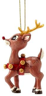 enesco jim shore rudolph traditions 50th anniversary ornament