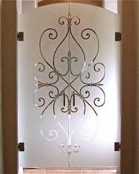 etched glass door furniture engaging home interior decoration using hanging double