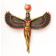 egyptian isis table lamp egyptian light