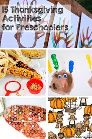 15 thanksgiving activities for preschoolers simple for