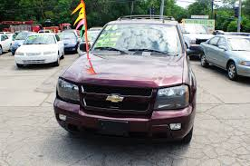 2006 chevrolet trailblazer lt burgundy used suv sale