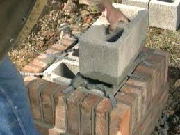 Building A Cinder Block House How To Build A Brick Mailbox How Tos Diy
