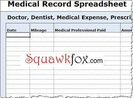 Form To Spreadsheet Expense Tracking Spreadsheet Squawkfox
