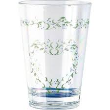 Corelle Country Cottage Glasses by Corelle Country Cottage Acrylic 8 Oz Drinkware Wayfair