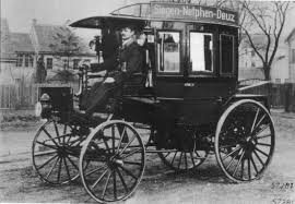 first mercedes benz 1886 photo first gasoline powered bus in history 1895 trucks